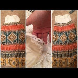 Maurices Bohemian Maxi Dress